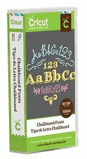 Chalkboard Fonts Cricut Cartridge - Brand New & Sealed!