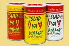 TRIO of SLAP YA MAMA Cajun Seasoning Spices (Original, Hot, White Pepper Blend)