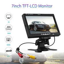 """EYOYO S720 1024*600 7"""" HD Camera DVD Video TFT LCD Monitor Display VGA HDMI TPL"""