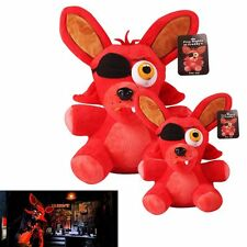 """10"""" Hot FNAF Five Nights at Freddy's FOXY PIRATE Plush Soft Toys Kids Doll New"""