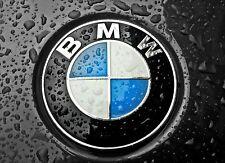 BMW Emblem 82mm Motorhaube Heckklappe Logo 1er 3er 5er 6er 7er E36 E46 E39 NEU