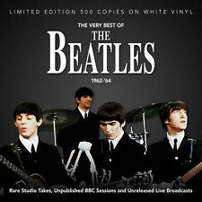 Beatles Very Best 1962-64 Import LP on WHITE Vinyl - SEALED NEW! limited edition