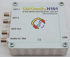 CIAOradio H101 HF 0.1-30 MHz MULTIMODE SDR RADIO RECEIVER - TEST SET COMSISTEL