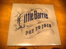 Cardsleeve Single cd LITTLE BARRIE Pay To Join PROMO 2TR 2007 indie rock