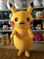 Hot Selling Pikachu Mascot Costume Adult Size Costumes Advertising Fancy Dress