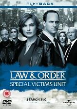 Law and Order Special Victims Unit - NBC Series - Complete Season 6 DVD Box Set
