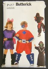 Butterick P457 Halloween Costume Sewing Pattern Super Hero Ninja Uncut All Sizes