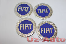 FIAT 4 pieces x 60mm Wheel Centre Cap Sticker Logo Badge Emblem Decal