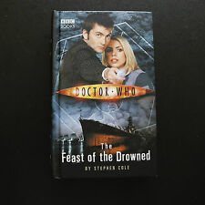 DR WHO TENTH DOCTOR & ROSE THE FEAST OF THE DROWNED HARD BACK BOOK NOVEL