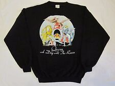 QUEEN  :  Original 1976  -  ' A Day At The Races '  -  Vintage Sweatshirt