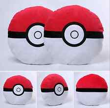 Anime Pocket Monster Pokemon Poke Ball Plush Stuffed Toy Pillow FREE SHIPPING