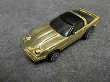 Ideal Slam Shifters C.B.S. 1984 Gold Plated Corvette Car RARE