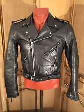 Vintage First Gear Motorcycle Hipster Biker Steampunk Jacket Mens Size Small