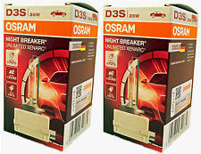 OSRAM D3S NIGHT BREAKER UNLIMITED Xenarc Xenon Brenner +70% 2 Stk. 66340XNB