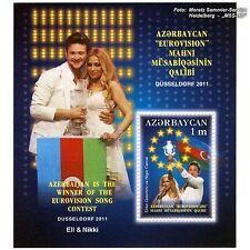 Azerbaiyán Azerbaijan 2011 Eurovisión Song Contest, ESC, Düsseldorf, bloque **