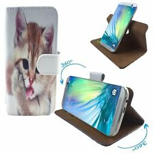 Mobile Phone Case Book Cover For Lenovo Vibe B - PU 360 Cat 2 S