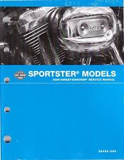 2008 Harley Sportster XL 883 1200 Factory Repair Service Manual 99484-08A