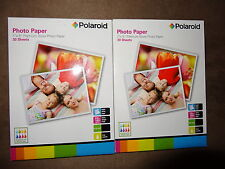 "2 Pkg. Polaroid 7""X5"" Premium Gloss Phote Paper-30 Sheets Each For Total Of 60"