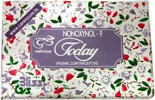 TODAY VAGINAL CONTRACEPTIVE LOT OF 2 BOXES 10 PESSARIES NON HORMONAL SPERMICIDE
