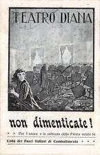 A3297) MILANO 1921 ATTENTATO TEATRO DIANA ELEZIONI POLITICHE LISTA FASCI