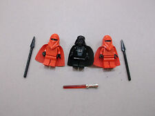 LEGO lot - Darth Vader 2 Royal Imperial Guards Star Wars Minifigure minifig D127