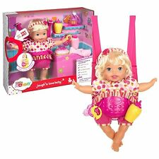"Fisher Price Little Mommy "" Laugh Love Doll""  Interactive Blonde - Brand New"