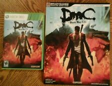 DMC Devil May Cry Xbox 360 Game and DMC Strategy Guide -Game with Guide
