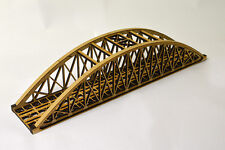 LASER CUT SINGLE TRACK BOWSTRING BRIDGE N SCALE 1:148 MODEL RAILWAY - LX036-N