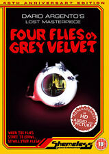 FOUR FLIES ON GREY VELVET - DVD - REGION 2 UK