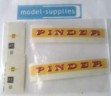 "French Dinky 581 GMC ""Pindar"" reproduction decals"