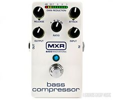 New! MXR M-87 Bass Compressor Pedal M87 - Free US 48 2-Day Shipping!