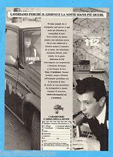 QUATTROR991-PUBBLICITA'/ADVERTISING-1991- CARABINIERI - L'ARMA DELLA GENTE
