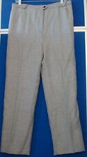 EUC Classic VIA CONDOTTI Palm Beach BOUTIQUE Dress PANTS Houndstooth WOOL Sz 4