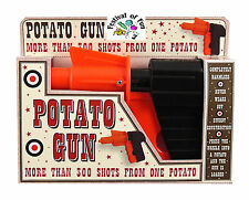 Spud Gun ~ Potato Gun ~ Fire Pieces of Potato! ~ Classic Retro Toy Novelty ~ NEW