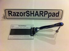 Razor Blade Cartridge Sharpener RazorSHARPpad Triples Blade Life & Saves Money