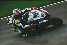 Shane Byrne Hand Signed Rapid Solicitors Kawasaki 12x8 Photo 2014 BSB 3.