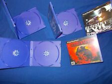 **EMPTY Cases** RESIDENT EVIL 1 2 3 DIRECTOR'S CUT Survivor PS1 PLAYSTATION 1