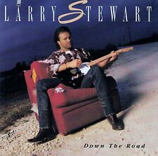 LARRY STEWART : DOWN THE ROAD / CD - MIT CUT-OUT IM BOOKLET & INLAY