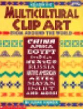 Multicultural Clip Art from Around the World by Susan Shneck (1995, Paperback)