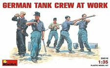 MiniArt Alemán Tripulación De Tanque at Trabajo alemán Mecánico del depósito 1:3