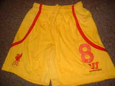 Liverpool Steven Gerrard Shorts Warrior Adult Small Football Soccer Jersey Away
