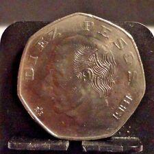CIRCULATED 1981 10 PESOS MEXICAN COIN (110816)13