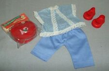 """Poodle Purse & Shoes, And Blue Gingham Outfit - Vogue Angel & other10"""" Dolls"""