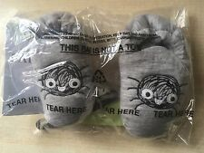 New Marks Spencer M&S Baby Grey Halloween Pram Shoes 3-6M - Spider Not So Scary