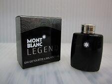 MONT BLANC LEGEND POUR HOMME 0.15 oz / 4.5 ML EDT Miniature New In Box