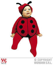 Baby Lady Bird Bonnet And Bib Insect Fancy Dress Costume