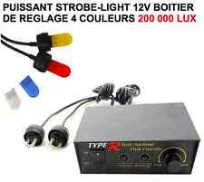 Strobe-light 4 couleurs 200 000 Lux RAID 4X4 HDJ KDJ PATROL LAND JEEP PAJERO BJ