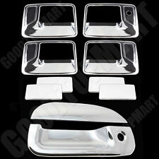 FOR FORD 99-07 F250/350 SUPER DUTY Chrome 4DR Handle w/oPSKH+Tailgate Cover W/KH