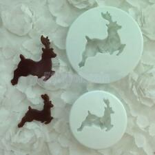 Reindeer Cutter Modeling DIY Tool for Fondant Cake Cookie Craft Decorations