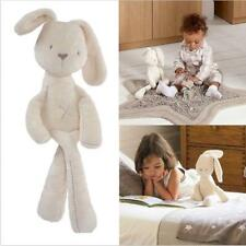 Fashion Stuffed Rabbit Animal Doll Plush Fluffy Soft Bunny TOY Baby Kids Gifts S